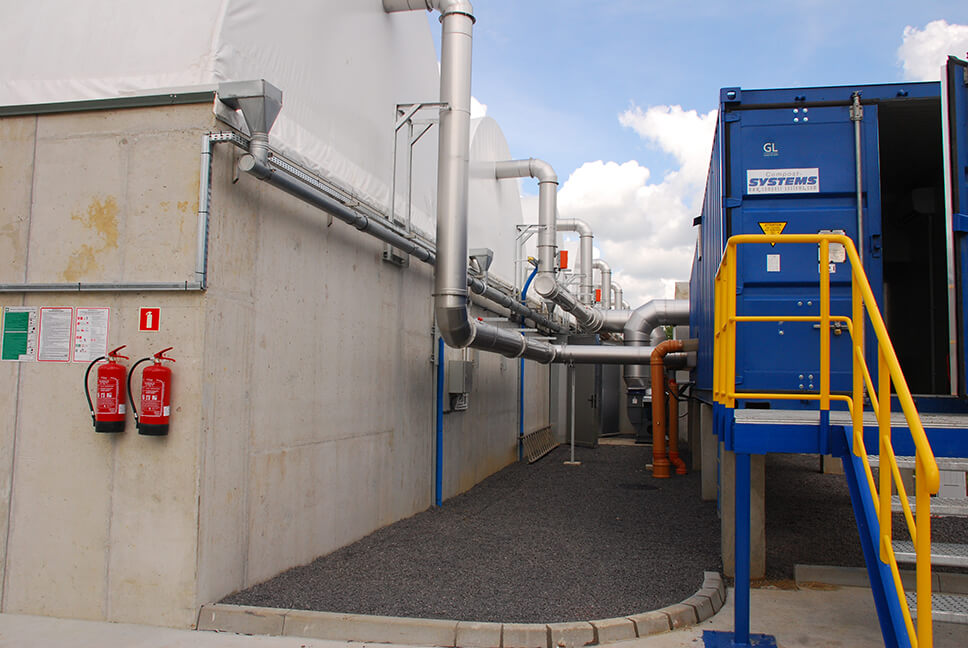 ZGiUK composting in Lubań - EcoPro - Ochrona Środowiska, Budownictwo Wodne