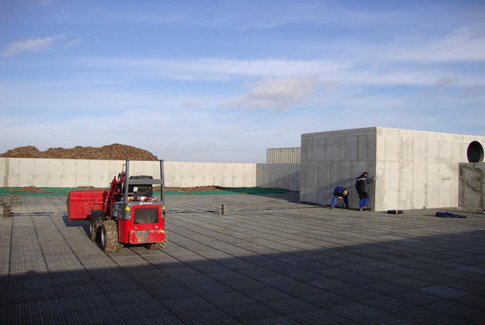 ZGO construction in Gać - EcoPro - Ochrona Środowiska, Budownictwo Wodne